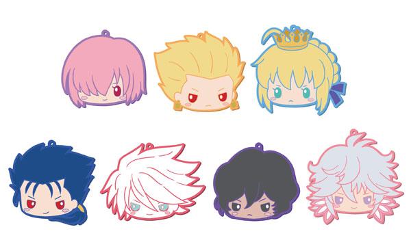 あみあみ新着!Fate/Grand Order Design Produced by Sanrio フェイスラバーコースター 7個入りBOX 新作グッズ予約情報