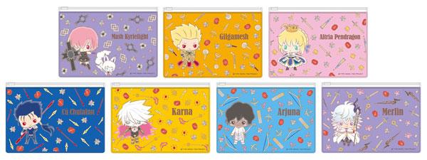 あみあみ新着!Fate/Grand Order Design Produced by Sanrio クリアフラットポーチ 7個入りBOX 新作グッズ情報