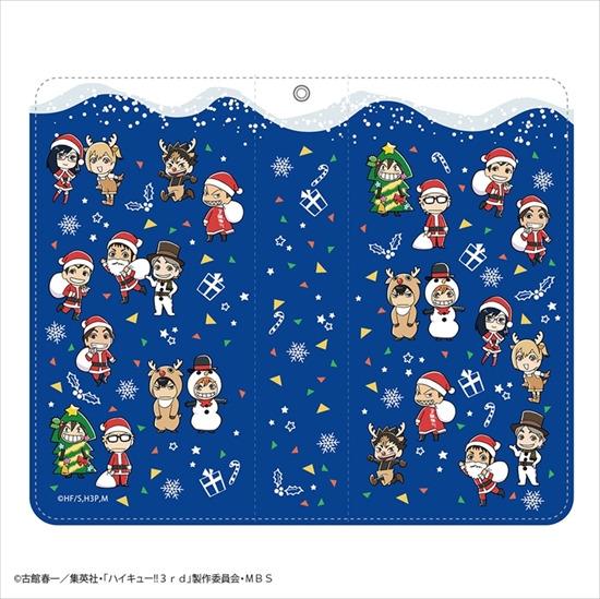 ホビーストック新着!  #ハイキュー !! クリスマス 手帳型スマートフォ 新作グッズ予約速報