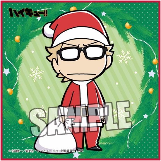 ホビーストック新着! #ハイキュー !! クリスマス マイクロファイバーミ 新作グッズ予約速報