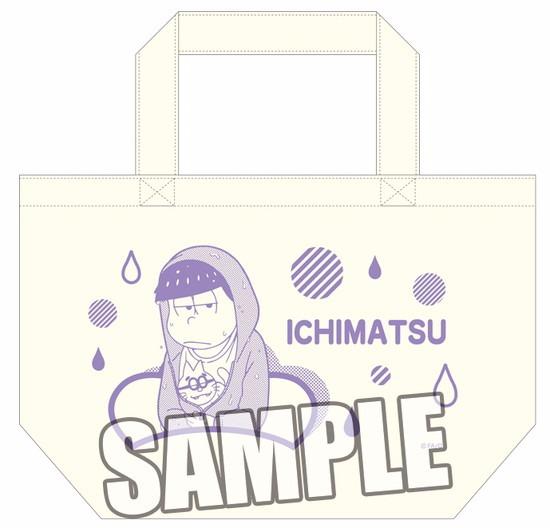 ホビーストック新着!  ##おそ松さん ミニトートバッグ 一松 雨の日Ver. 新作グッズ予約速報