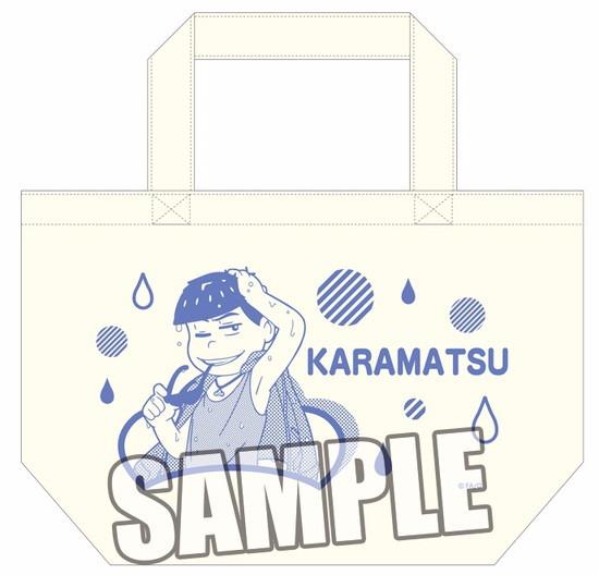 ホビーストック新着!  ##おそ松さん ミニトートバッグ カラ松 雨の日Ver. 新作グッズ情報