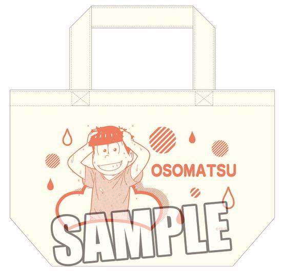 ホビーストック新着!  ##おそ松さん ミニトートバッグ おそ松 雨の日Ver.