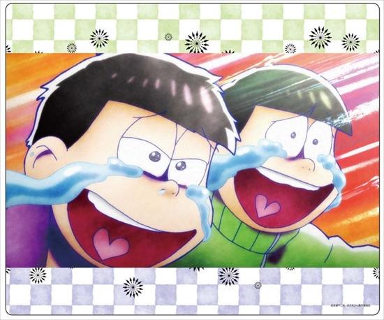 ホビーストック新着!  ##おそ松さん マウスパッド チョロ松・一松 新作グッズ情報