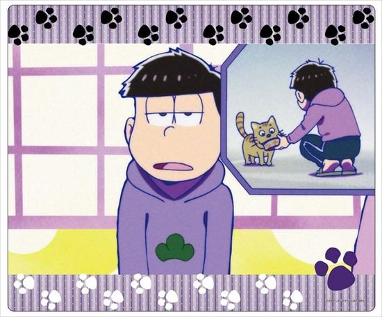 ホビーストック新着!  ##おそ松さん マウスパッド 一松 グッズ新作速報