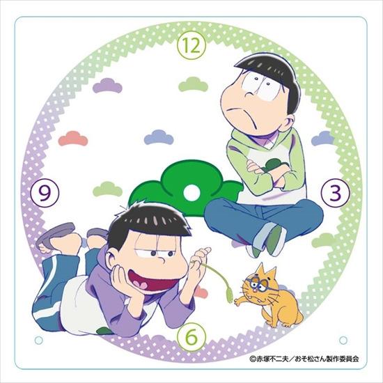 ホビーストック新着!  ##おそ松さん アクリル置き時計 チョロ松・一松
