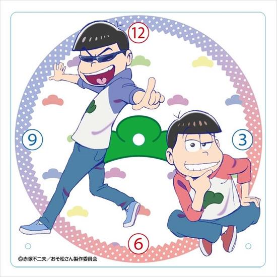 ホビーストック新着!  ##おそ松さん アクリル置き時計 おそ松・カラ松 新作グッズ予約速報