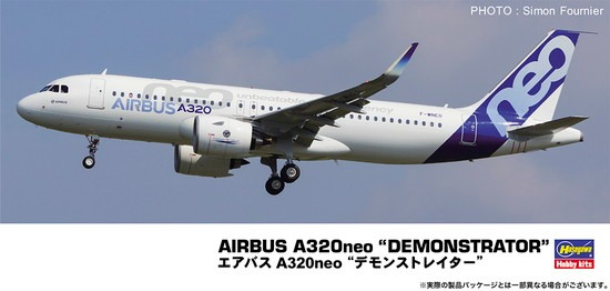 ホビーストック新着! ハセガワ 1/200 エアバス A320neo デモンストレ 新作グッズ予約速報