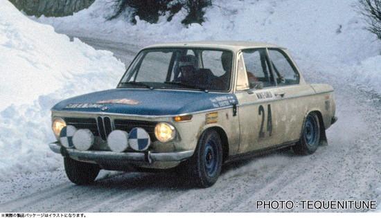 ホビーストック新着! ハセガワ 1/24 BMW 2002 1969 モンテカルロ ラリー 新作グッズ予約速報